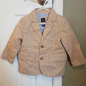babyGap size 2 years beige blazer